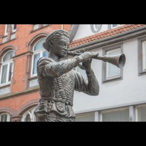 Rattenfänger Statue (Pied Piper) in Hameln