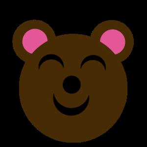 Süßer lächelnder Teddybär