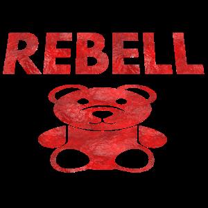 rebell teddybär