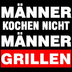 Echte Männer Grillen | Grill Grillparty Geschenk