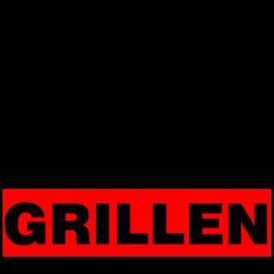 Grillen Männer T-Shirts Grillparty Sommer Geschenk
