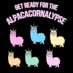 Alpaka Einhorn Apokalypse Geschenk Für Alpaka Fans