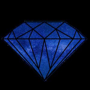 Weltraum Universum Diamant