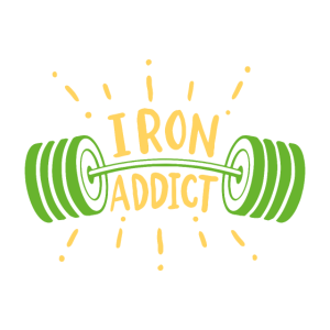Langhantel Iron Addict Gym Shirt