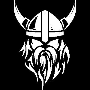 viking wikinger beards bart fighter symbol