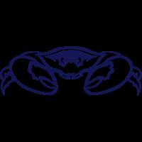 Krabbe Zange 7092 Tierkopf