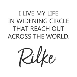 I LIVE MY LIFE IN WIDENING CIRCLE