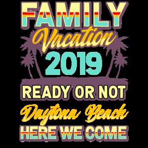Daytona Beach Familienurlaub 2019
