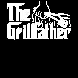 The Grillfather Vater Dad Grillen Lustig Geschenk