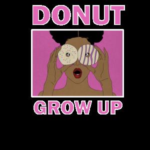 Donut erwachsen Afro Desert Afro Girl Donuts