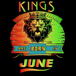 Könige werden im Juni geboren