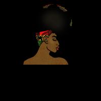 Ghana Afro Frau