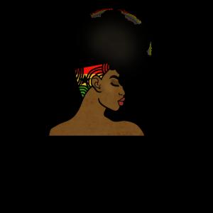Ghana Afro Frau Afrika Karte Haar Afrikanisches Mädchen
