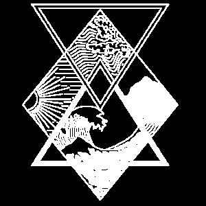Die Elemente - Wasser, Erde, Feuer, Luft