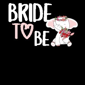 Bride to be Elefant Junggesellenabschied