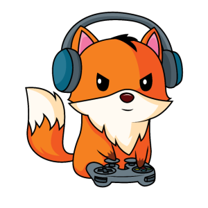 Gaming Fuchs - Spieler Fuchs - Design