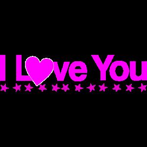 Ich liebe dich in Pink