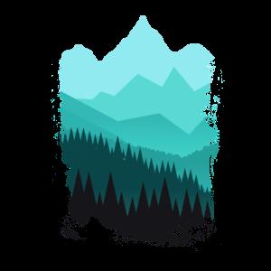 Wandern für Naturliebhaber Wälder und Berge Modern