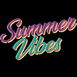 Summer Vibes Cool Purple Lila