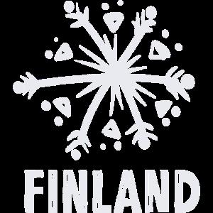 Finnland Schneeflocke