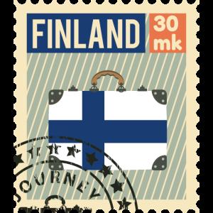 Finnland Briefmarke