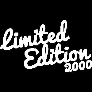 Limited Edition 2000 Geburtstag geboren 19 Jahre