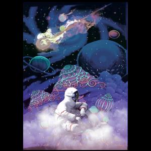 Psychedelisches Shirt LSD Astronaut
