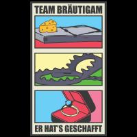 Team Bräutigam Tshirt