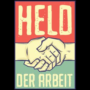 DDR Shirt Held der Arbeit