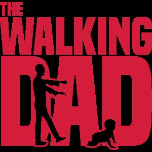 the walking dad - Der laufende Papa-Lustig -Zombie