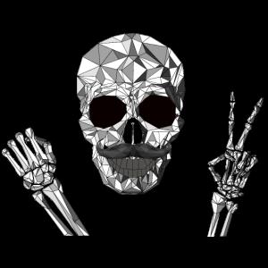Hipster Skull, Hipster Totenkopf