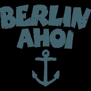 Berlin Ahoi Anker (Vintage/Dunkelblau)