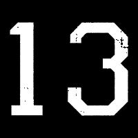 Zahl 13 Nummer Dreizehn 13. Geburtstag Dreizehnter