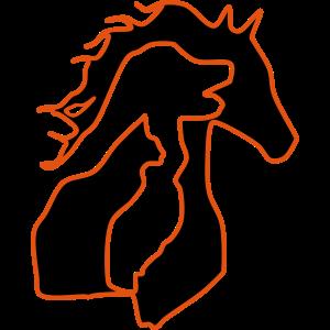 01. pferd - hund - katze