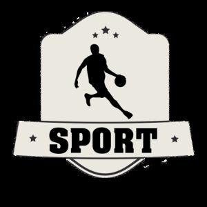 Sportler Emblem für erfolgreiche Sportler
