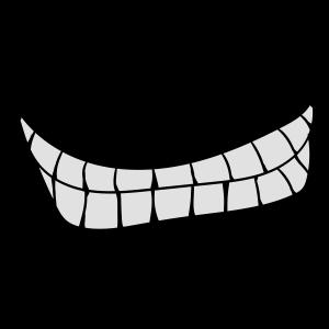 mund zähne böses grinsen lachen
