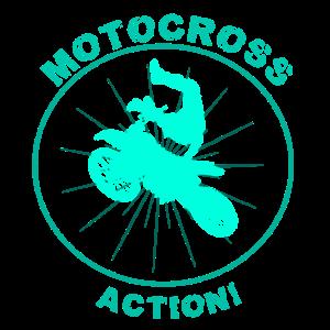 Motocross Action Stunt Enduro Stuntfahrer MX