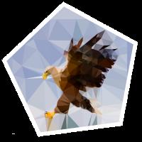 Moderner Adler