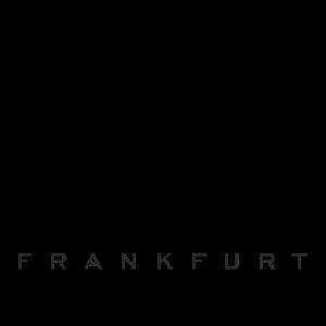 Frankfurter Skyline (Vintage/Schwarz) Frankfurt
