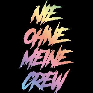 nie ohne meine crew bunt