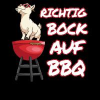 Bock auf BBQ grillen Grillkönig Grillparty smoken