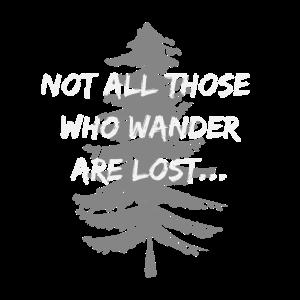 Cooles Wander Design Gedicht von Tolkien Hell Big