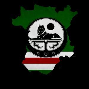 Chechnya Map, Chechen Flag
