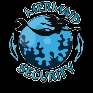 Mermaid Security Meerjungfrau Tshirt