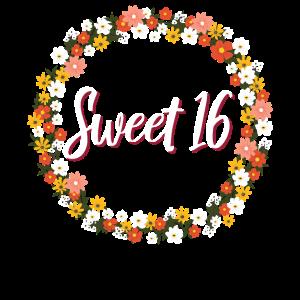 Sweet 16 th Geburtstag Party Geschenk