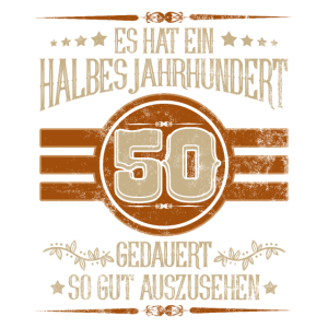 Geburtstag 50 Shirt Es hat ein halbes Jahrhundert