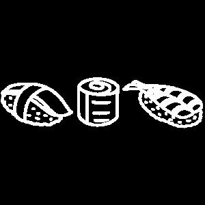 Sushi gericht mahlzeit delikatesse fisch