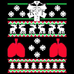 Hässliche Weihnachtsschneeflocke-Ren-Bäume
