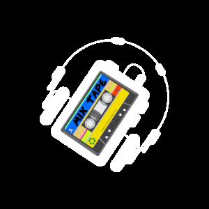 Kassette Walkman Mixtape Retro 80s 80er Kindheit