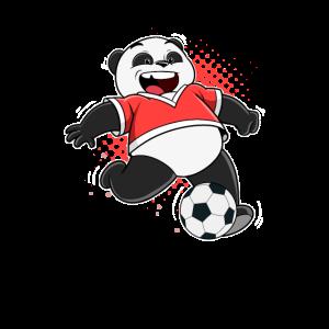 Fußball Panda Bär Fußballer Teddy Ball Team Spiel